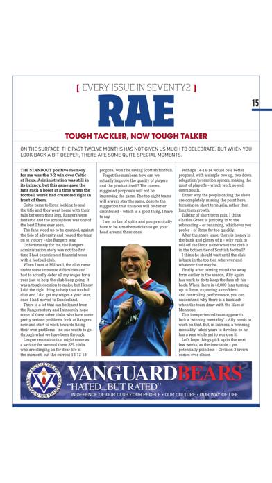 Seventy2 Magazine – The Glasgow Rangers Retro Magazine screenshot two