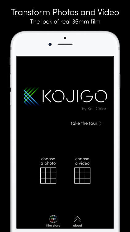 Koji Go – Film Color for Photo and Video