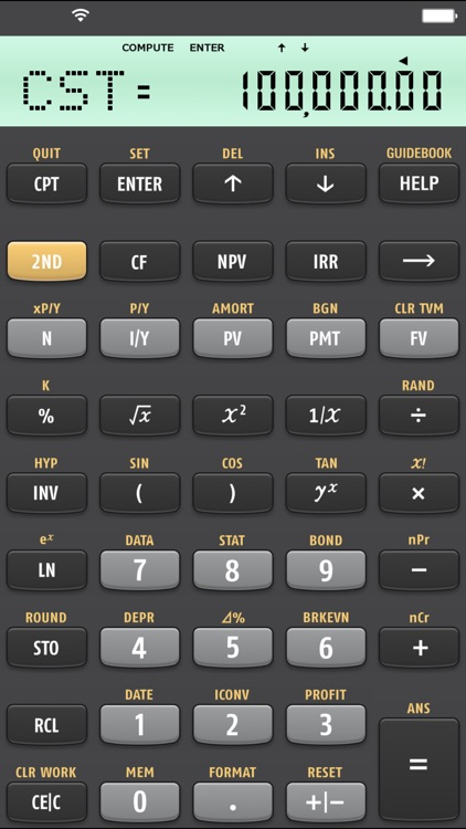 BA II Plus(tm) Financial Calculator screenshot-3