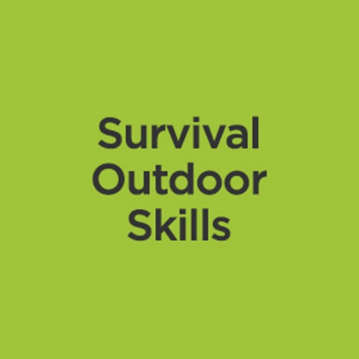 Survival Outdoor Skills:Tips and Tutorial icon