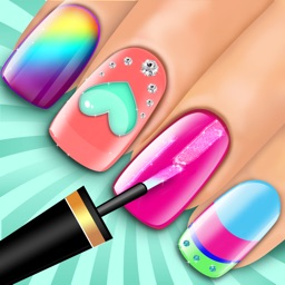 Nail Makeover Girls Game: Virtual beauty salon - Nail polish decoration game
