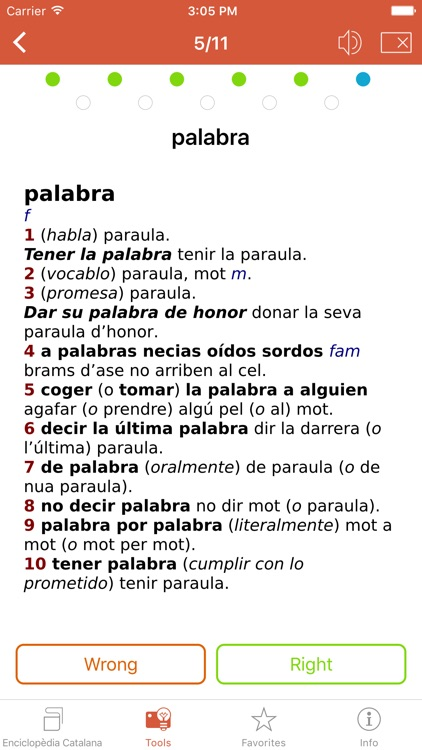 Compact Spanish-Catalan Catalan-Spanish Dictionary from Enciclopèdia Catalana screenshot-4