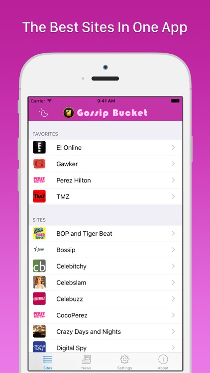 Gossip Bucket - Celebrity News Aggregator