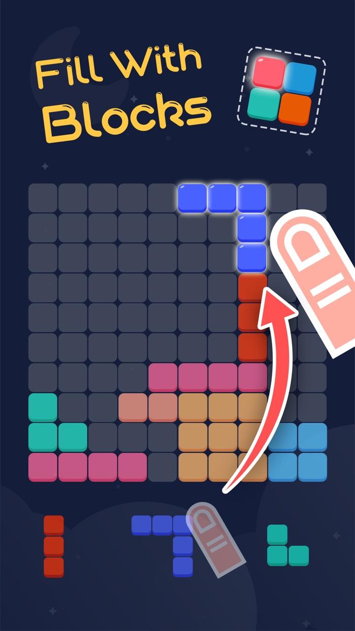 Block Blitz: A Grid Puzzle Game Screenshot