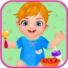 cuidado del bebé gemelo y alimentación icon