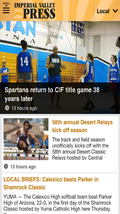Imperial Valley Press News screenshot two