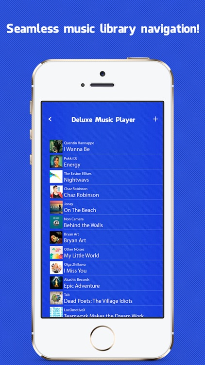 Deluxe Music Player