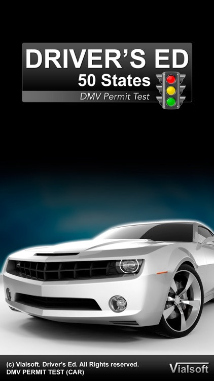 Drivers Ed: DMV Permit Practice Test (All 50 States)