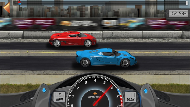 Drag Racing Classic screenshot-3
