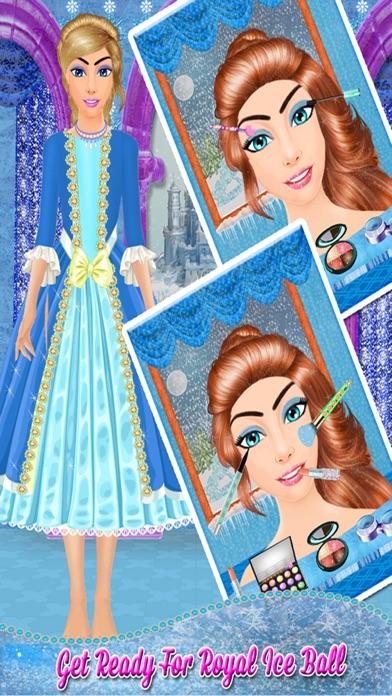 Ice Princess Makeover Salon: Ice Frozen Princess Spa, Makeup & Dress Up Makeover - Girls games for girls screenshot one