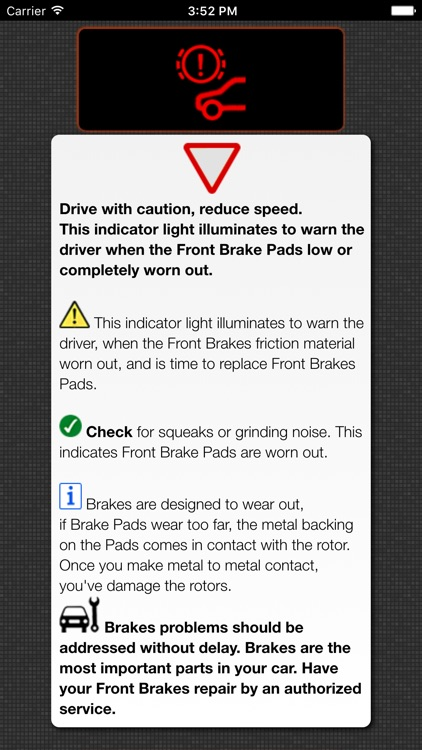 App For BMW Warning Lights U0026 Car Problems