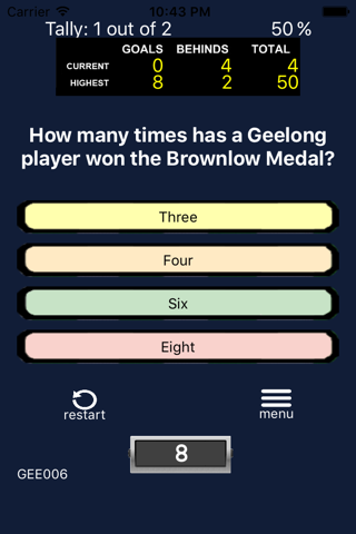 AFL Trivia - Geelong Cats - náhled