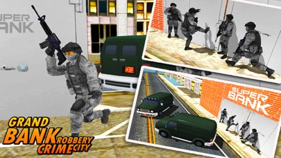 Bank Robbery - crime city police shooting 3D free-1