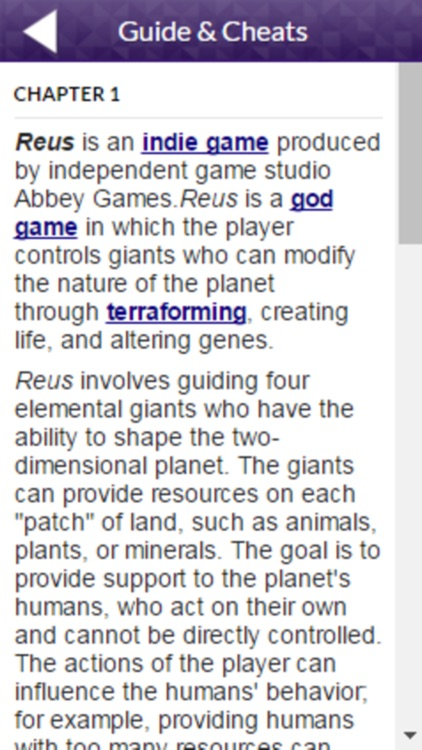PRO - Reus Game Version Guide