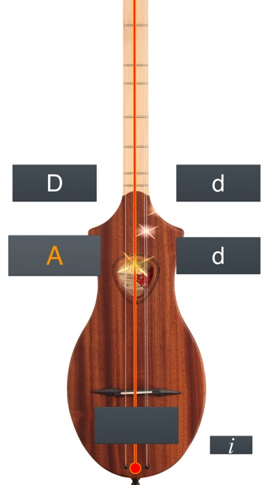 Dulcimer Tuner Simple Mixolydian review screenshots