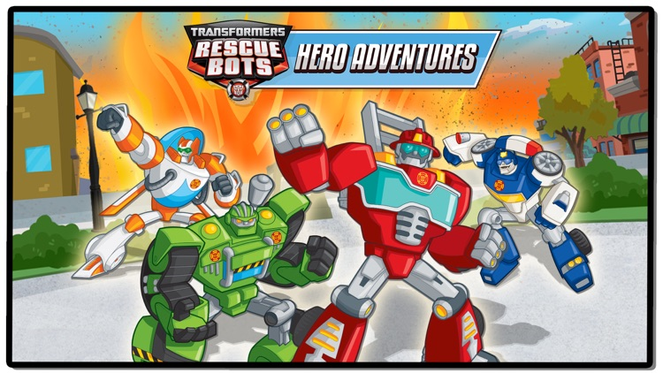 Transformers Rescue Bots: Hero Adventures screenshot-0