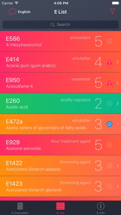Food Additives Checker screenshot-3