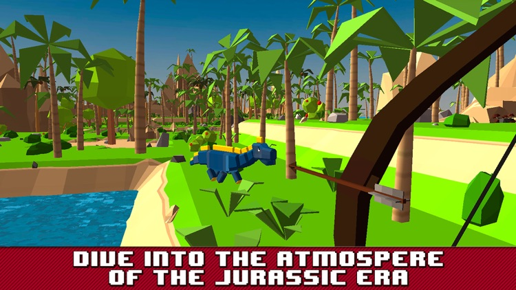 Dino Island Survival Simulator 3D screenshot-0