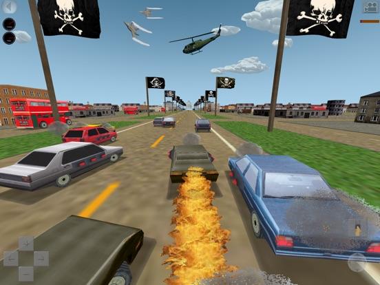 Mad Road 3D - Combat cars game на iPad