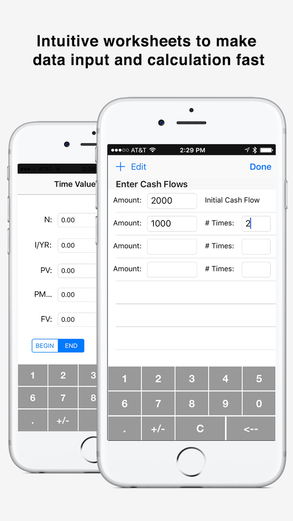 10bii Financial Calculator by Vicinno Screenshot