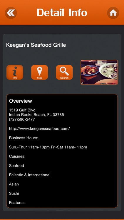 Best App for Diners, Drive-Ins and Dives Restaurants screenshot-3