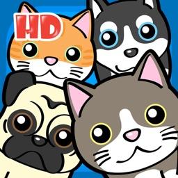 Pet House Garden Cats & Dogs - Littlest Palace Fluff Pets Friends HD