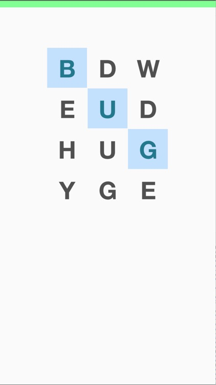 Bugged Word Search