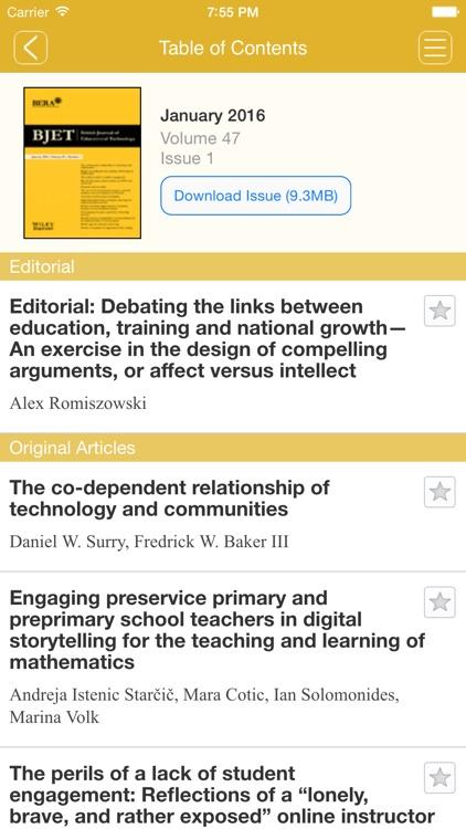 British Journal of Educational Technology screenshot-4