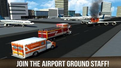 レアル空港トラック運転手:緊急消防士救助のおすすめ画像5