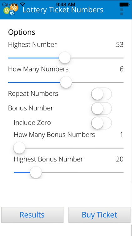 Lottery Ticket Numbers screenshot-4