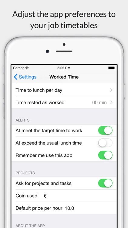 Worked Time screenshot-3