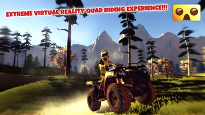 VR Quad Riding Game : Extreme Virtual Reality Games For Google Cardboardのおすすめ画像1