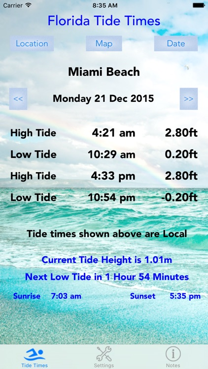 Florida Tide Times screenshot-0