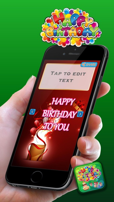 Happy Birthday Card Maker – cute love messages, best