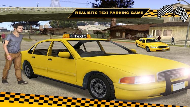 3D Taxi Car Driver Parking Game