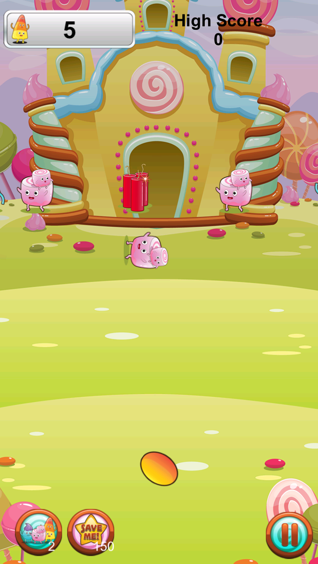 Candy Frenzy Free Game screenshot four