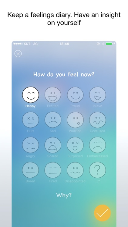 Feelings Diary - Track your emotions