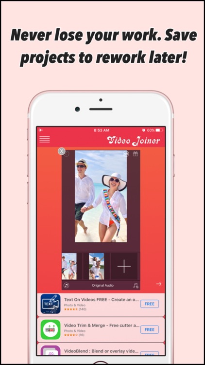 Video Joiner - Free Merger App to join multiple videos! screenshot-4
