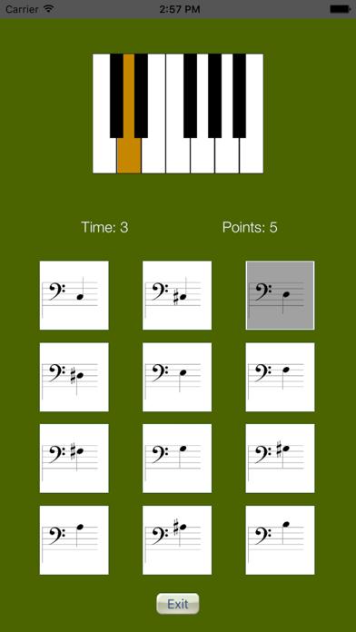Sheet Music Trainer Piano Bassのおすすめ画像3