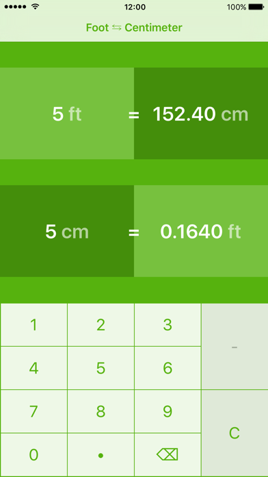 f0bde71896c Feet to Centimeters | ft to cm iOS Application Version 3.0.0 ...