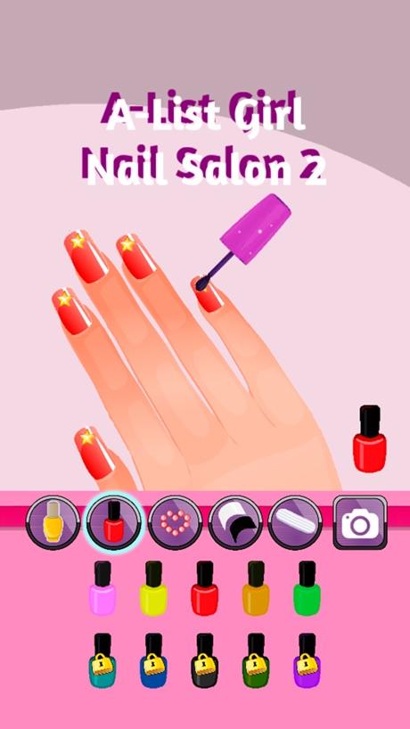 A-List Girl: Nail Salon 2