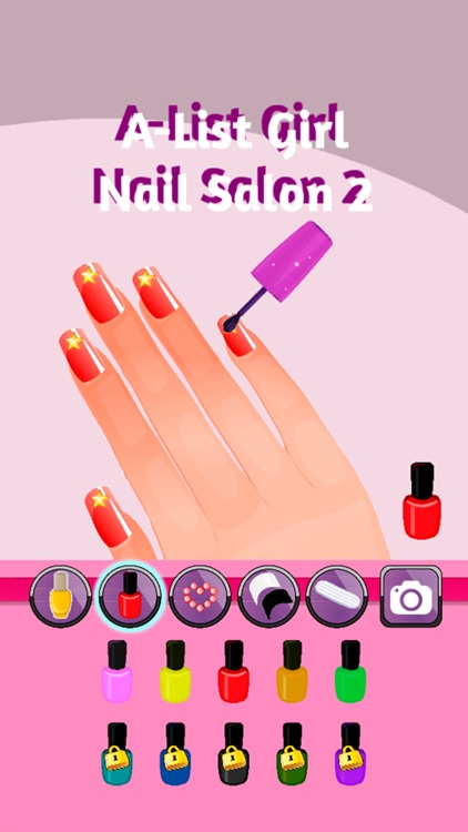 A-List Girl: Nail Salon 2 screenshot-0