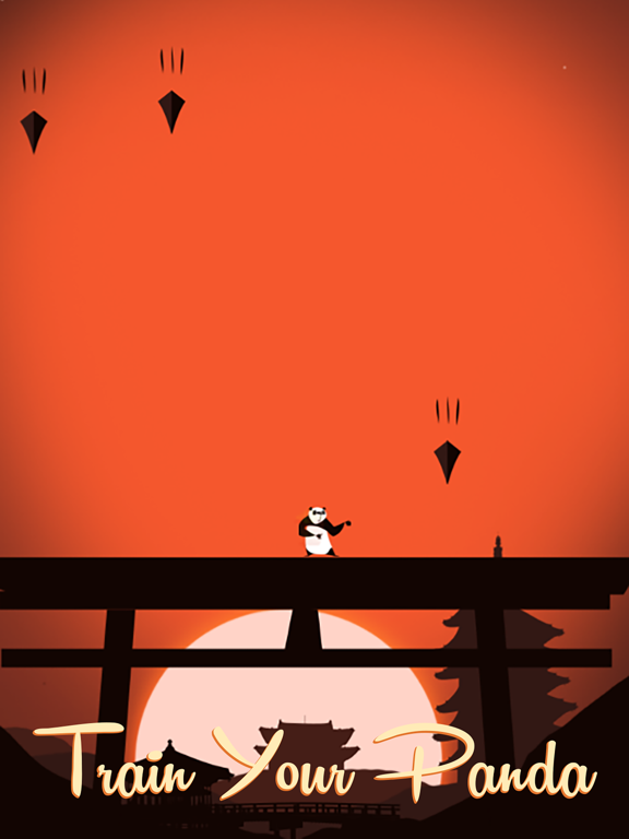 Panda Warrior - Kungfu Samurai-ipad-4