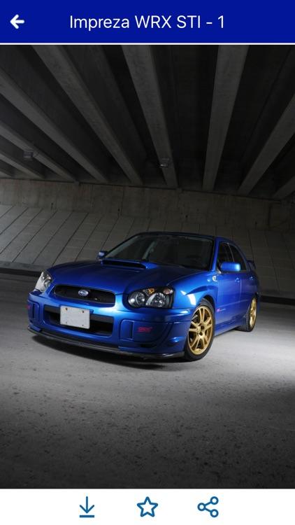HD Car Wallpapers - Subaru Impreza WRX STI Edition screenshot-4