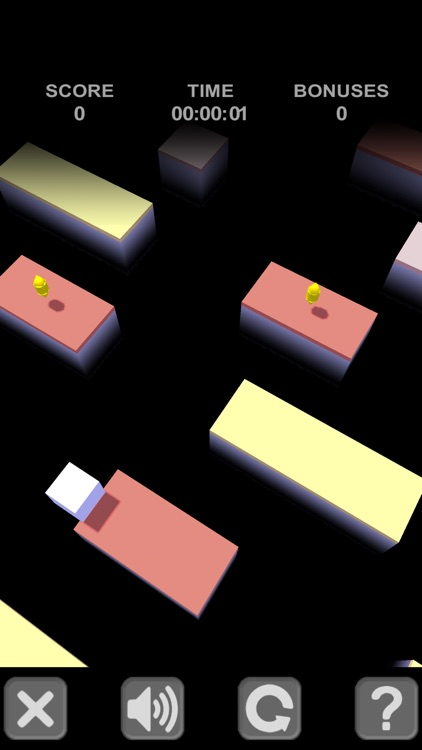 Cube Jump to the platform