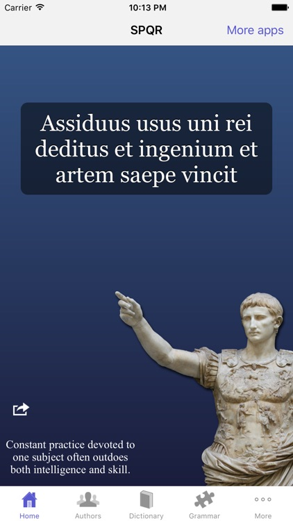SPQR Latin Dictionary and Reader screenshot-3