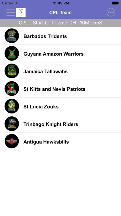 CPL - Caribbean Premier League screenshot-3