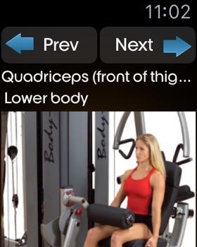 Body Building Exercises + screenshot 11