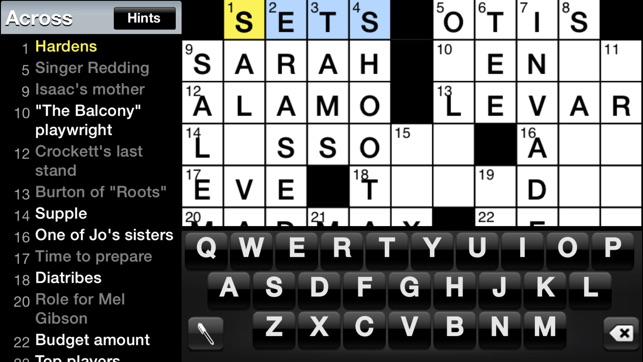 image about Sheffer Crossword Printable called \u200eCrosswords Clic