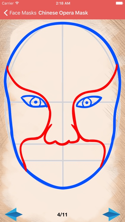 Artist Red - How to draw Face Masks screenshot-4